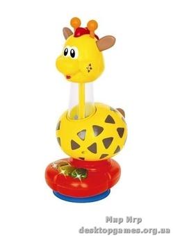 Погремушка Жираф (свет, звук)