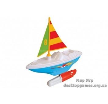 Развивающая игрушка – ПАРУСНИК (для игры в ванной)