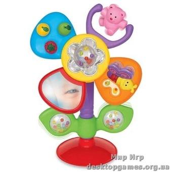 Игрушка на присоске (Цветочек звук)