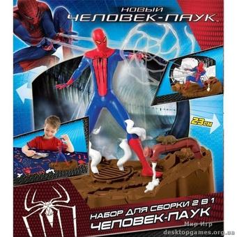 """Сборная игрушка """"Спайдермен"""" делюкс"""