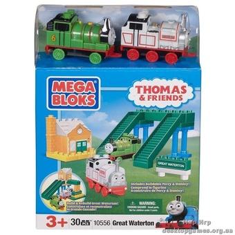 """Mega Bloks. """"Томас"""".Конструктор """"Перси и Стенли в Большом Уотертоне"""" 10556"""