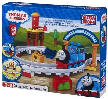 "Mega Bloks. ""Томас"". Конструктор ""Томас,вперед!"" 10570"