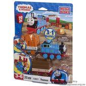 "Mega Bloks ""Томас"". Паровоз ""Томас"" с вагончиком 10601"