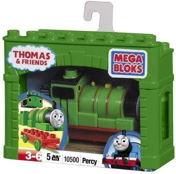 """Mega Bloks. """"Томас"""". Паровоз """"Перси"""" 10605"""