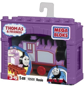 """Mega Bloks. """"Томас"""". Паровоз """"Рози"""" 10608"""
