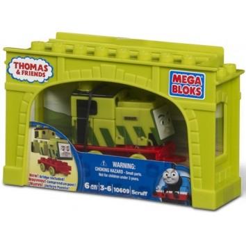 """Mega Bloks. """"Томас"""". Паровоз """"Скраф"""" 10609"""