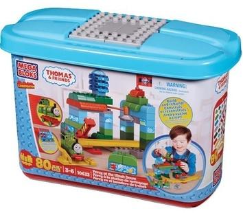 """Mega Bloks. """"Томас"""".Конструктор в ведре """"Перси"""" 10633"""
