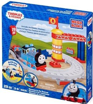 """Mega Bloks. """"Томас"""". Конструктор """"Спасатели"""" 10636"""