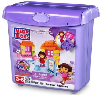 "Mega Bloks ""Дора"". Конструктор ""Арт-студия"". 2901"