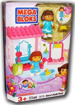 "Mega Bloks. ""Дора"". Набор ""В ванной"" 3079"