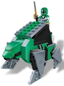 """Mega Bloks. Конструктор """"Зеленый зорд - Медведь"""" 5818"""