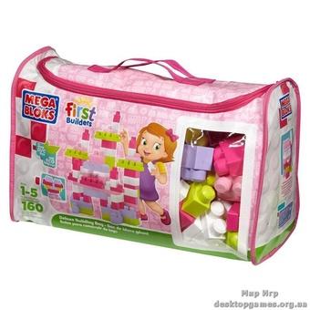 """Mega Bloks. Конструктора в сумке """"Розовый цвет"""" 8016"""