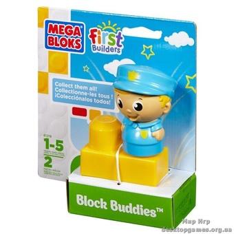 """Mega Bloks. Конструктор с фигуркой """"Офицер"""" 81218"""