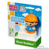 """Mega Bloks. Конструктор с фигуркой """"Строитель"""" 81220"""