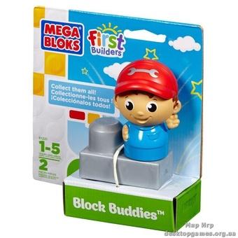 """Mega Bloks. Конструктор с фигуркой """"Механик"""" 81221"""