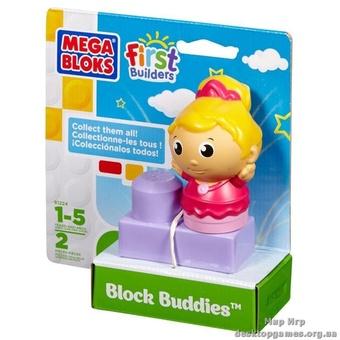"Mega Bloks. Конструктор с фигуркой ""Балерина"" 81224"