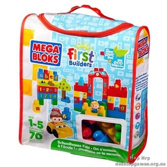 """Mega Bloks. Конструктор в сумке """"Обучение в школе"""" 8375"""