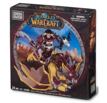 "Mega Bloks ""Вселенная Warcraft-Орда"". Набор ""Таурен на драконе"" 91020"