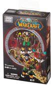"""Mega Bloks """"Вселенная Warcraft-Орда"""". Набор """"Таурен-друид"""" 91023"""