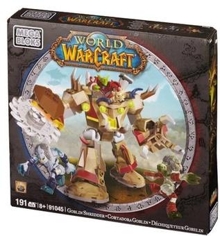 """Mega Bloks """"Вселенная Warcraft-Альянс"""". Набор конструктора """"Гоблин"""" 91045"""