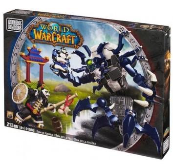 """Mega Bloks """"Вселенная Warcraft-Альянс"""". Набор конструктора """"Ярость"""" 91046"""