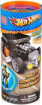 """Mega Bloks. Конструктор """"Черный гоночный автомобиль Bone Shaker"""" 91707"""