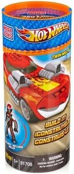 """Mega Bloks. Конструктор """"Красный гоночный автомобиль Twin Mill III"""" 91708"""