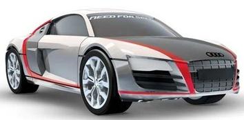 "Mega Bloks. Конструктор ""Audi R8"""