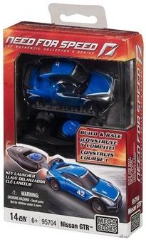 """Mega Bloks.Автомобиль """"Nissan GTR"""", 95704"""
