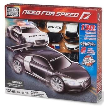 """Mega Bloks. Автомобль """"Audi R8"""" 2шт 95766"""