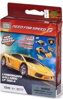 "Mega Bloks. Автомобиль ""Lamborghini Gallardo LP 560"""