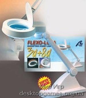 Лупа с LED-подсветкой, 40 диодов