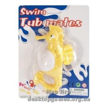 Игрушка для ванной комнаты с заводным механизмом «Мои морские друзья», Морской конек