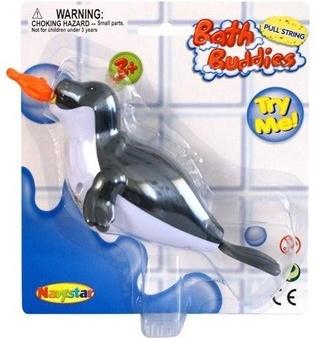 Игрушка для ванной комнаты «Тюлень с рыбкой»