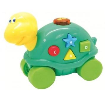 """Музыкальная игрушка со световыми эффектам """"Дружелюбные животные"""", Черепашка"""