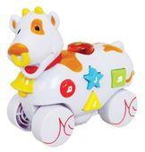 """Музыкальная игрушка со световыми эффектам """"Дружелюбные животные"""", Корова"""