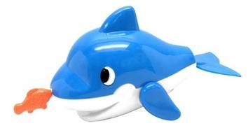 Игрушка для ванной комнаты «Дельфин с рыбкой»