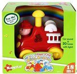 Музыкальная игрушка 'Press & Go' «Команда спасателей» со световыми эффектами, Пожарная машина