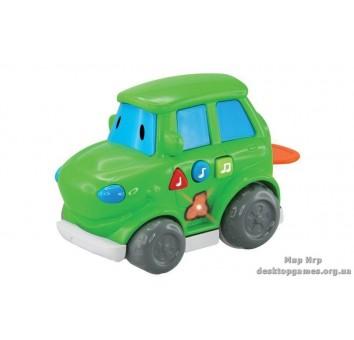 Машинка со световыми и звуковыми эффектами, Зеленая