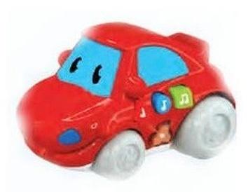 Машинка со световыми и звуковыми эффектами, Красная
