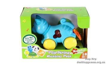 """Музыкальная игрушка со световыми эффектами """"Домашние питомцы"""", Котенок"""