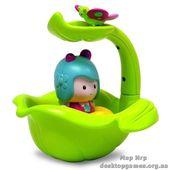 Интерактивная игрушка - МИМИ И ВОЛШЕБНАЯ ЛОДКА-ЛИСТОК (для игры в ванной)