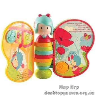 Интерактивная музыкальная игрушка-книжка ПОЮЩАЯ БАБОЧКА МИМИ (русский язык)