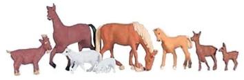 Фигурки Н0 - Домашние животные (6 шт.)