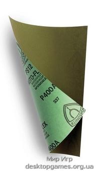 Наждачная бумага, 4 штуки (400, 600, 800, 1000)