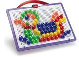 Набор Для занятий мозаикой  (15 мм фишки (100 шт.) + доска 22х16, переносной)