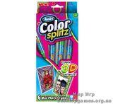 Набор фото рамок 3Д серии Color splitz + 3 фломастера