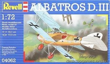 Истребитель-биплан Альбатрос D.III