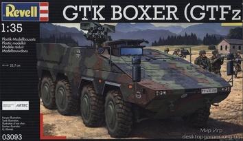 Бронетранспортёр GTK Boxer (GTFz) (2009г.,Германия)
