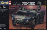 Сборная стендовая модель бронеавтомобиля Fennek